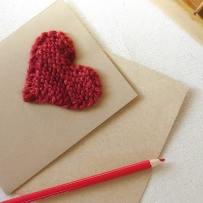 How to Knit a Valentine Heart